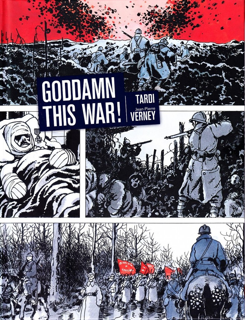 goddam this war jacques tardi fantagraphics cover