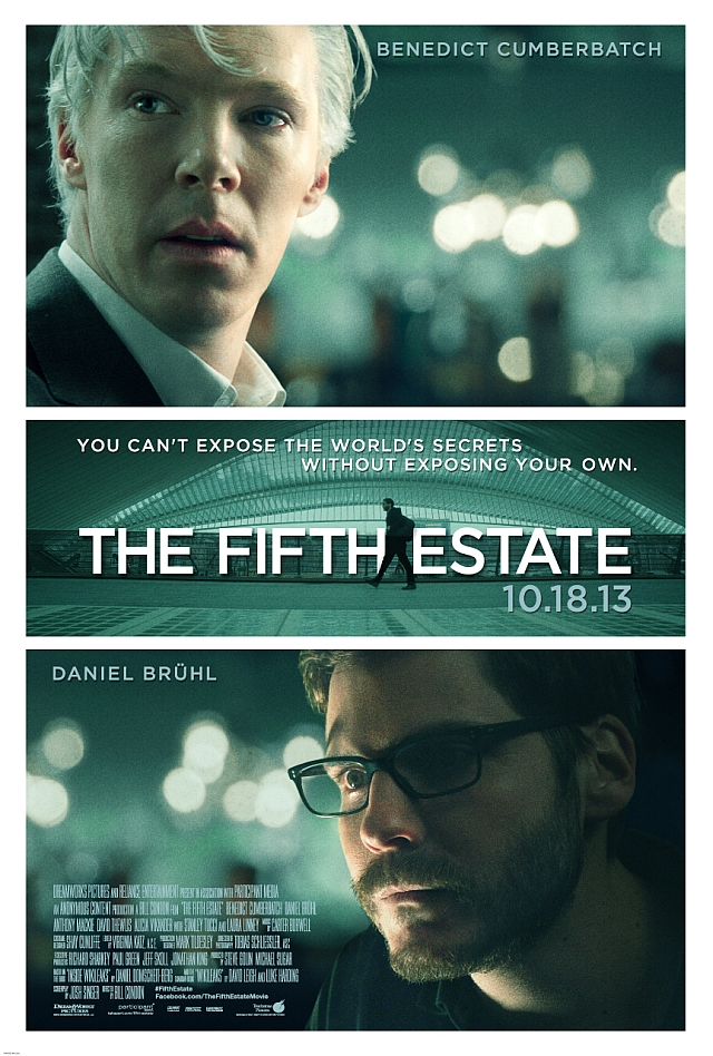fifth estate movie poster