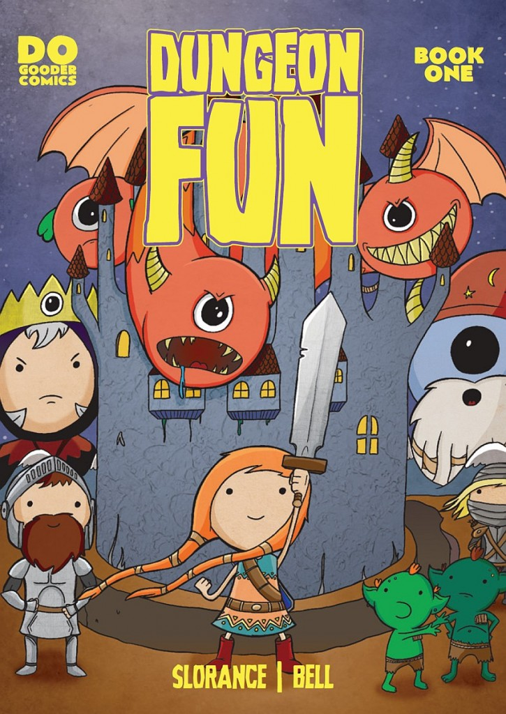 dungeon fun 1 bell slorance dogooder comics cover