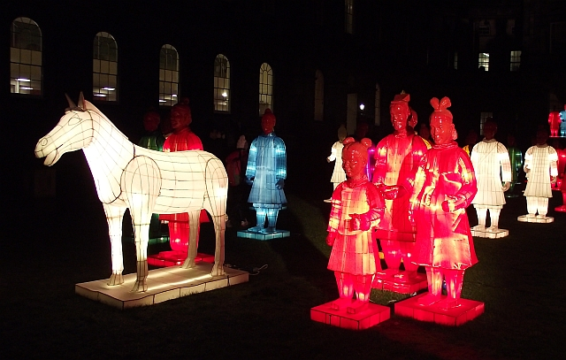 small Lanterns of Terracotta Warriors 01