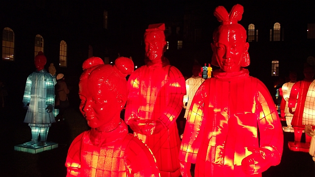 small Lanterns of Terracotta Warriors 02
