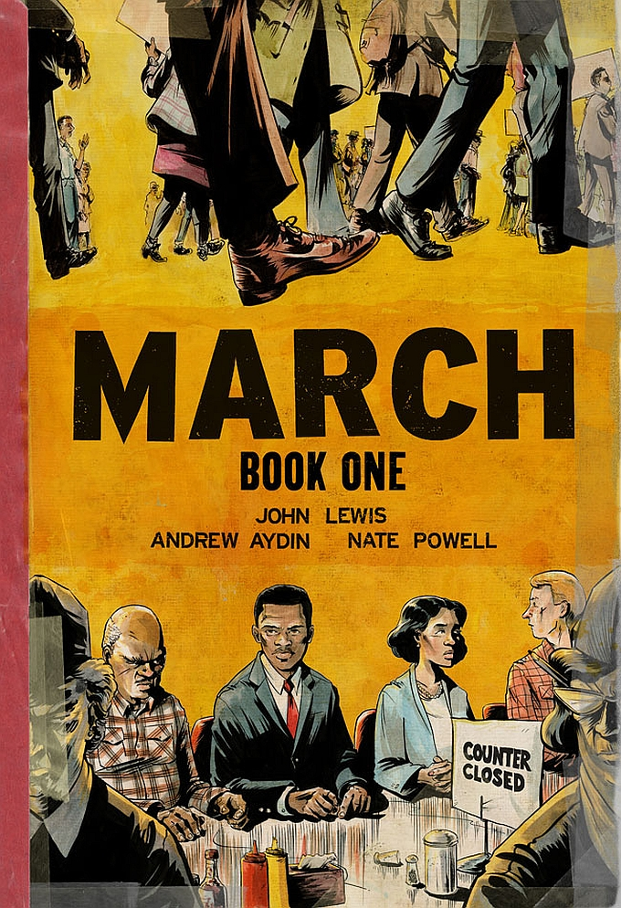 march book one cover lewis powell