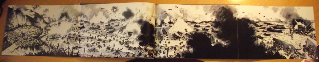 omaha_beach_on_d-day_morvan_trefouel_first_second_gatefold