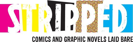 stripped comics edinburgh international book festival banner