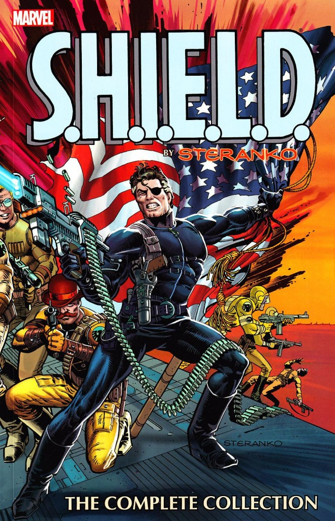 SHIELD-by-Steranko-complete-collection-cover