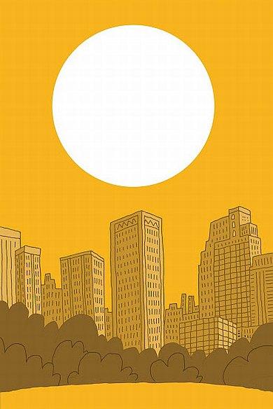 supercrash darryl cunningham myriad editions cityscape