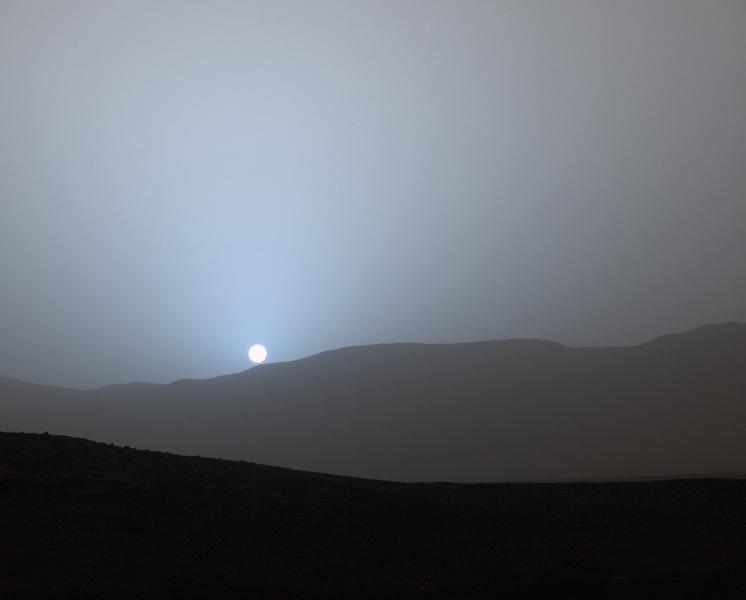 sunset_on_mars_curiosity_probe