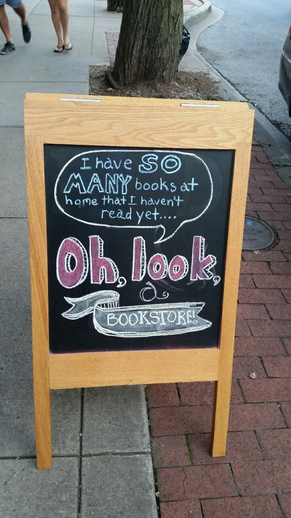 oh look a bookstore