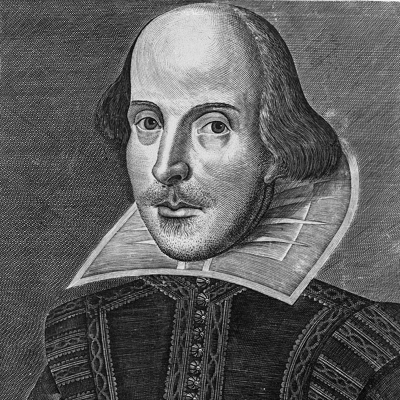 shakespeare folio portrait martin droeshout