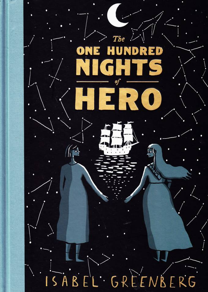 isabel_greenberg_one_hundred_nights_hero_jonathan_cape_cover